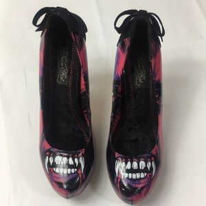 Iron Fist Vampire High Heel Shoes size 9